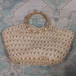 Redfish Straw Handbag